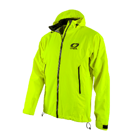 Image of O'Neal Tsunami Rain Jacket Neon Yellow