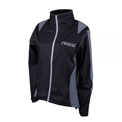 Proviz Nightrider Jacket Ladies Waterproof Black 10