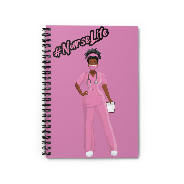 Nurse Life - with Mask (Pink)