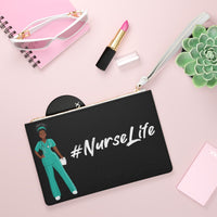 Nurse Life Clutch Bag