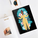 Amanda Gorman Spiral Notebook - Be the Light (Black)
