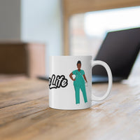 Nurse Life Ceramic Mug 11oz