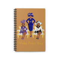 Church Hats Spiral Notebook - Ruled Line