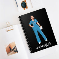 Nurse Life Spiral Notebook - Ruled Line