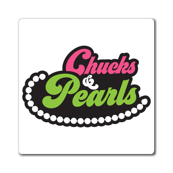 Chuck&Pearls Magnet