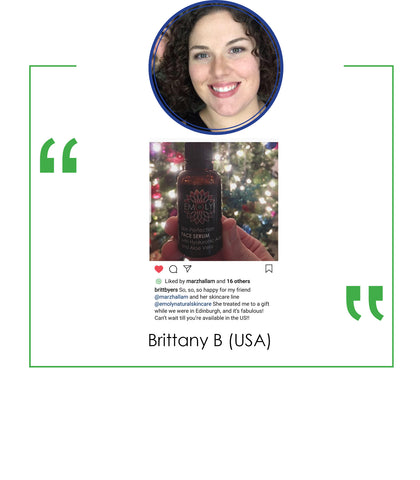 Brittany Byers Emoly Product testimonial
