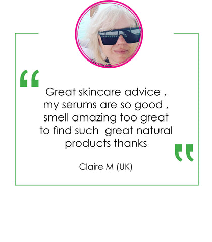 Claire Millar Emoly Product testimonial