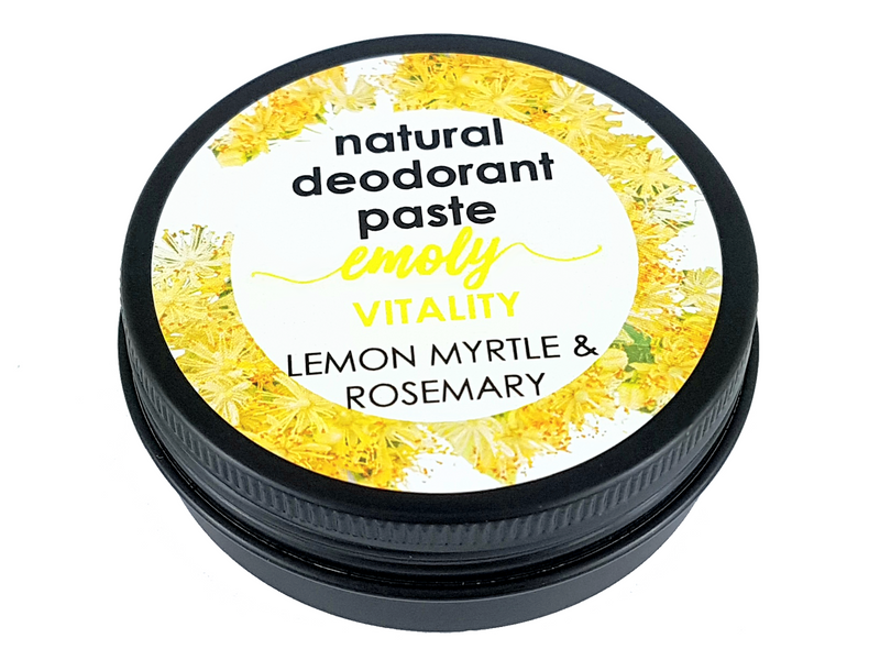 Natural Deo Paste - Vitality - Lemon Myrtle