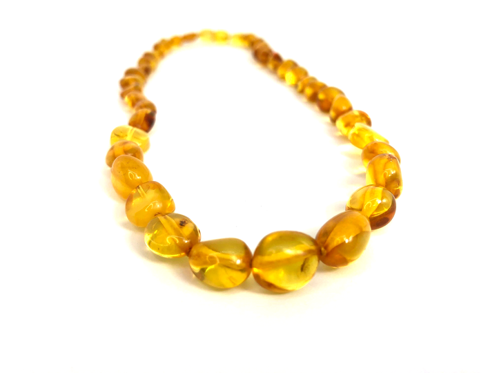 Certified Baltic Amber Necklace - Adult size - top quality