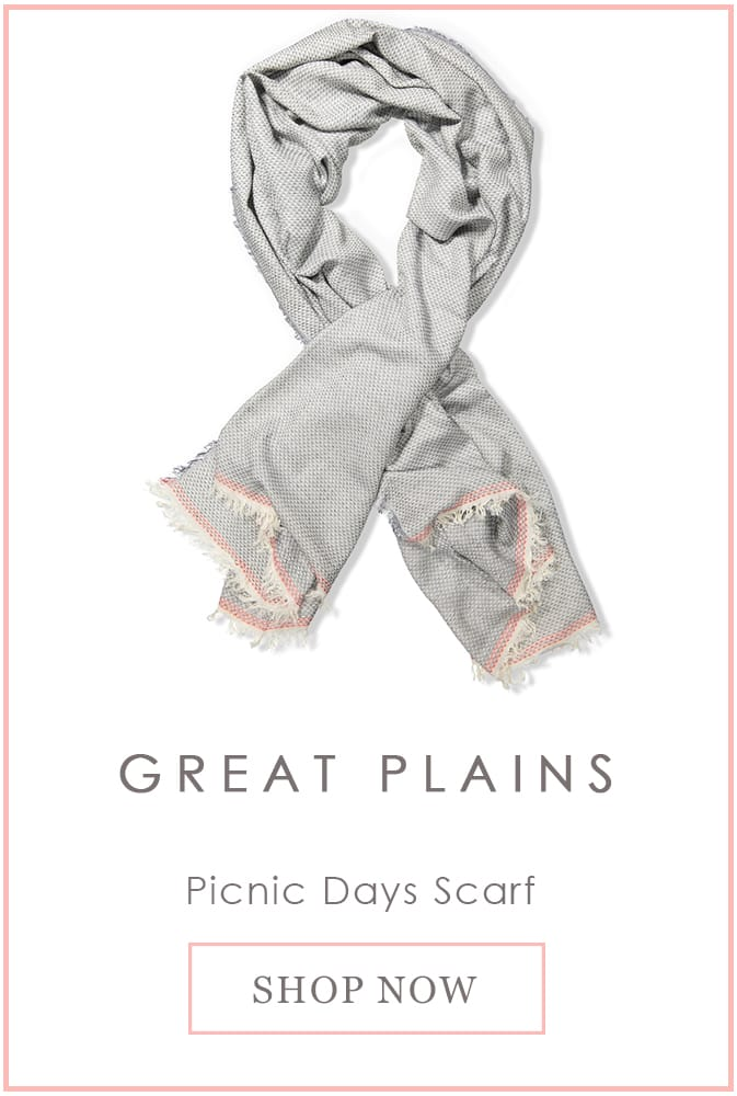 Great Plains Picnic Days Scarf