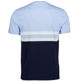 Yoke Stripe Cotton T-Shirt (6173748527280)