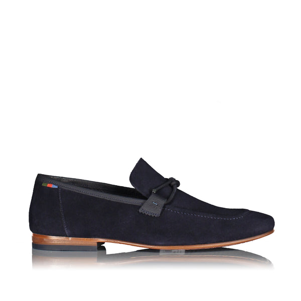 Crecy Suede Loafers With Knot Detail