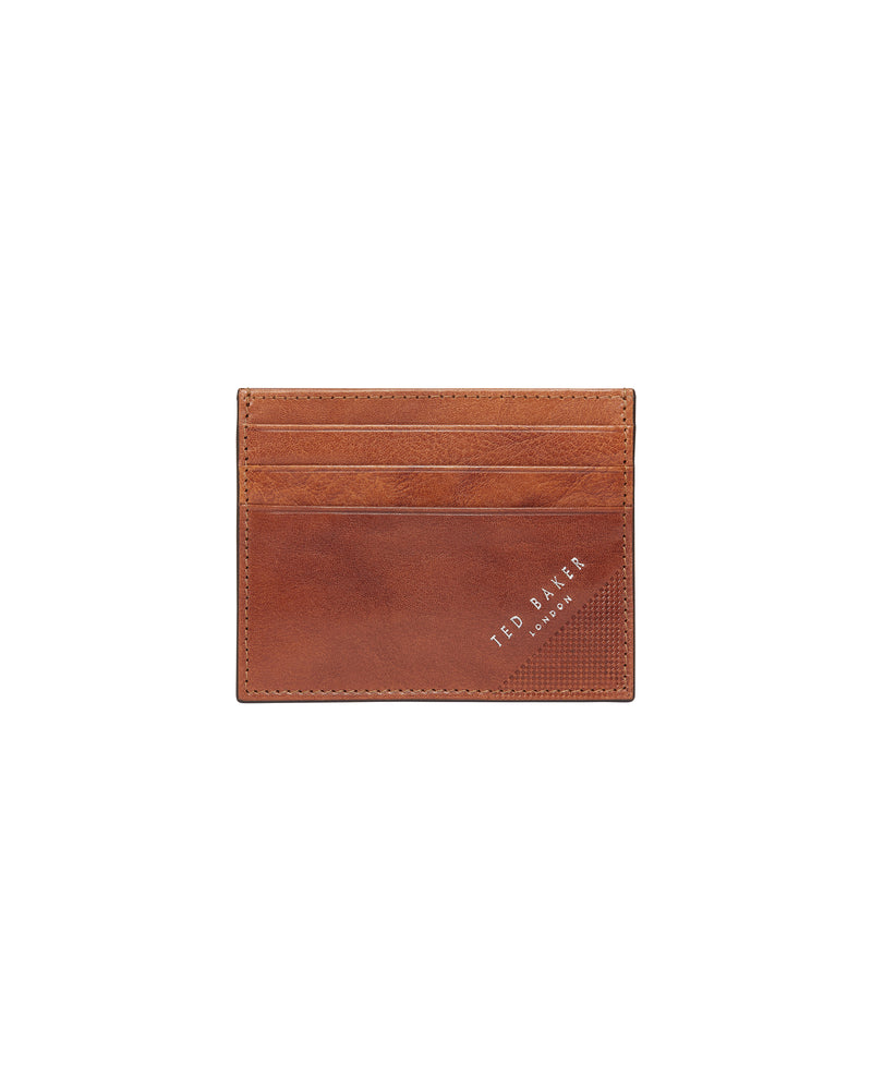 Rifle Embossed Corner Leather Cardholder (6152300069040)