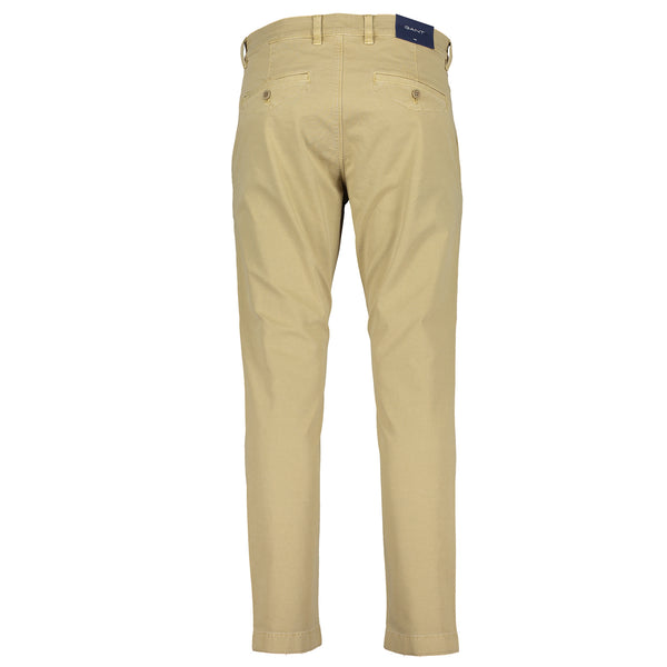 Slim Fit Light Canvas Chinos