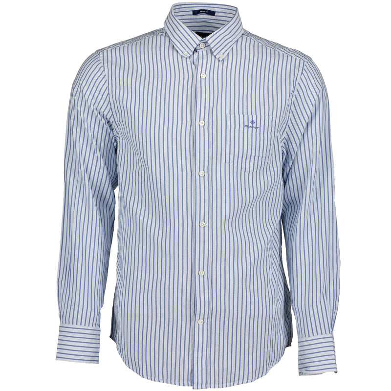 Windblown Oxford Stripe Regular Broadcloth Shirt