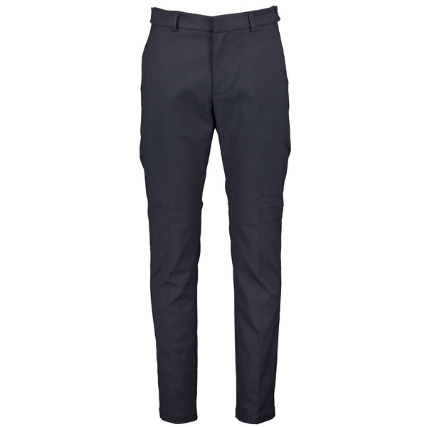 Chino Trousers In Fishbone Fabric