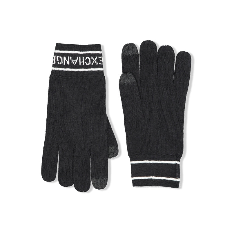 Logo-Knit Gloves