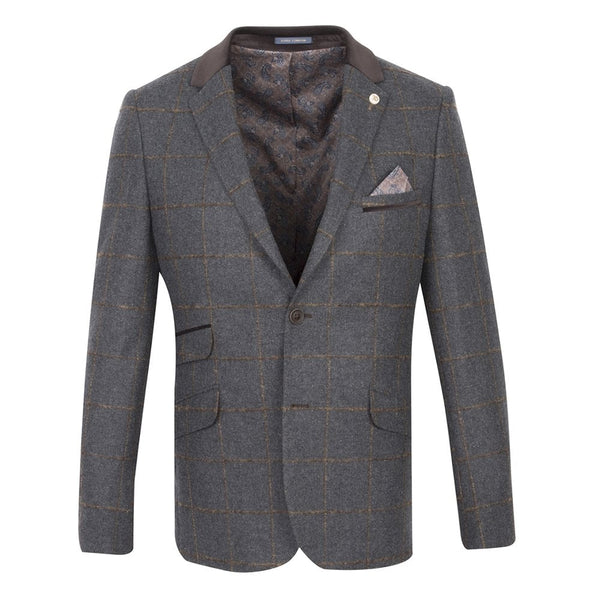 Tapered Textured Jacket