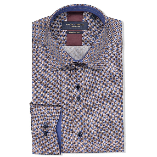 Spotted Cotton Shirt