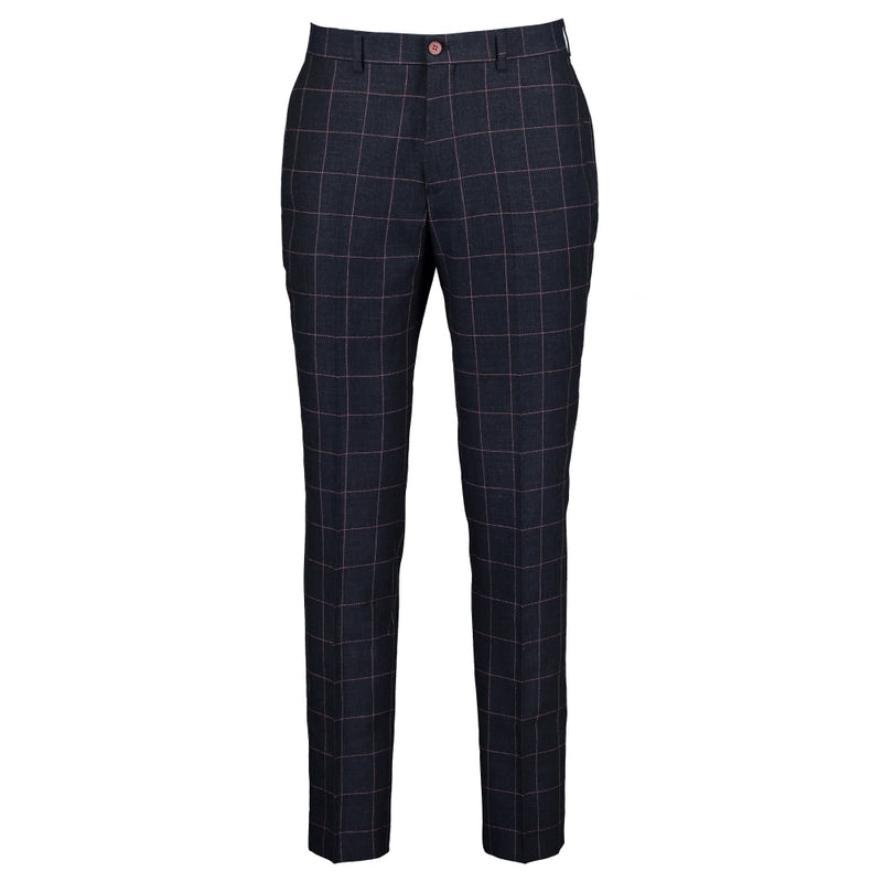 Woollen Check Trousers