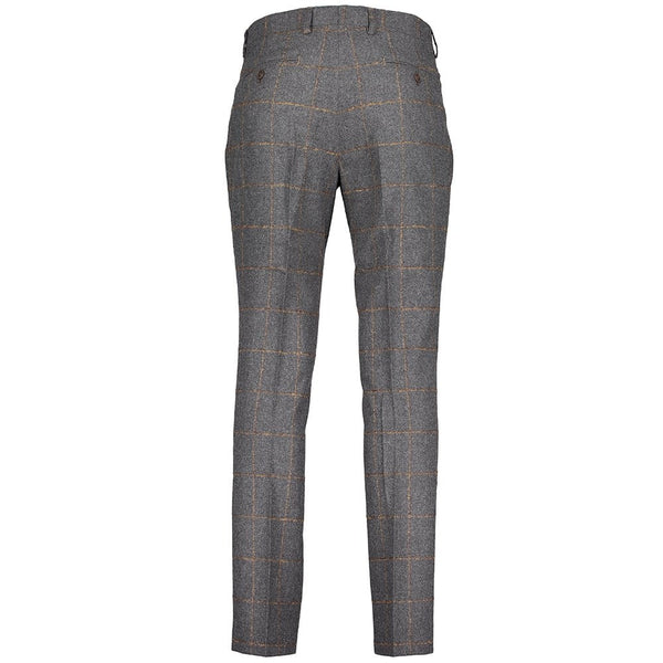 Tonal Checked Trousers