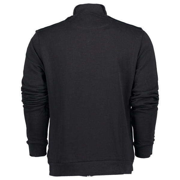 Canvas Wadded Funnel Neck Jacket