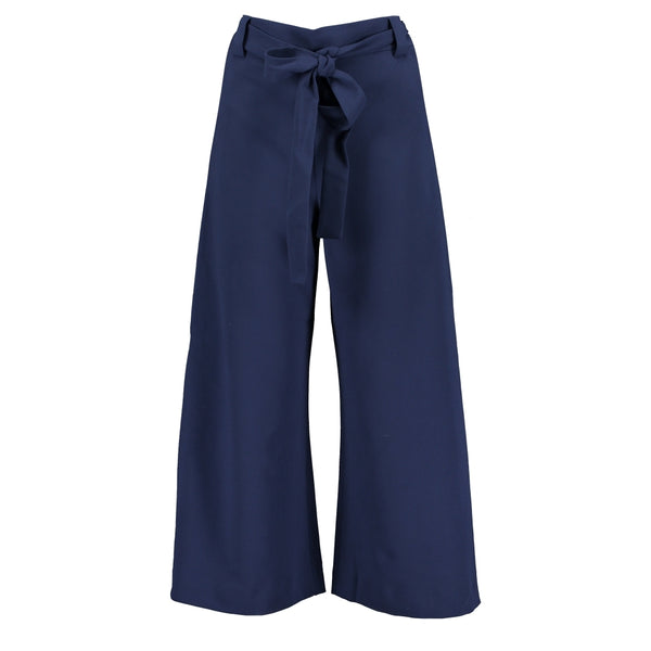 Boh Whisper Cropped Flare Trousers