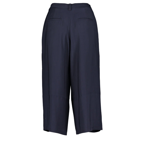 Lina Twill Culotte Trousers