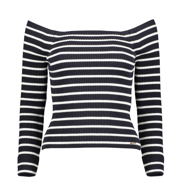 Lucie Bardot Knit Top