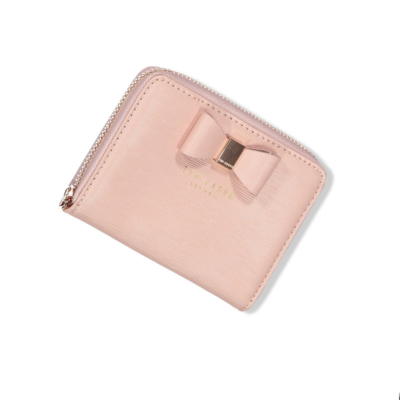 Aureole Textured Small Zip Purse (6152444739760)