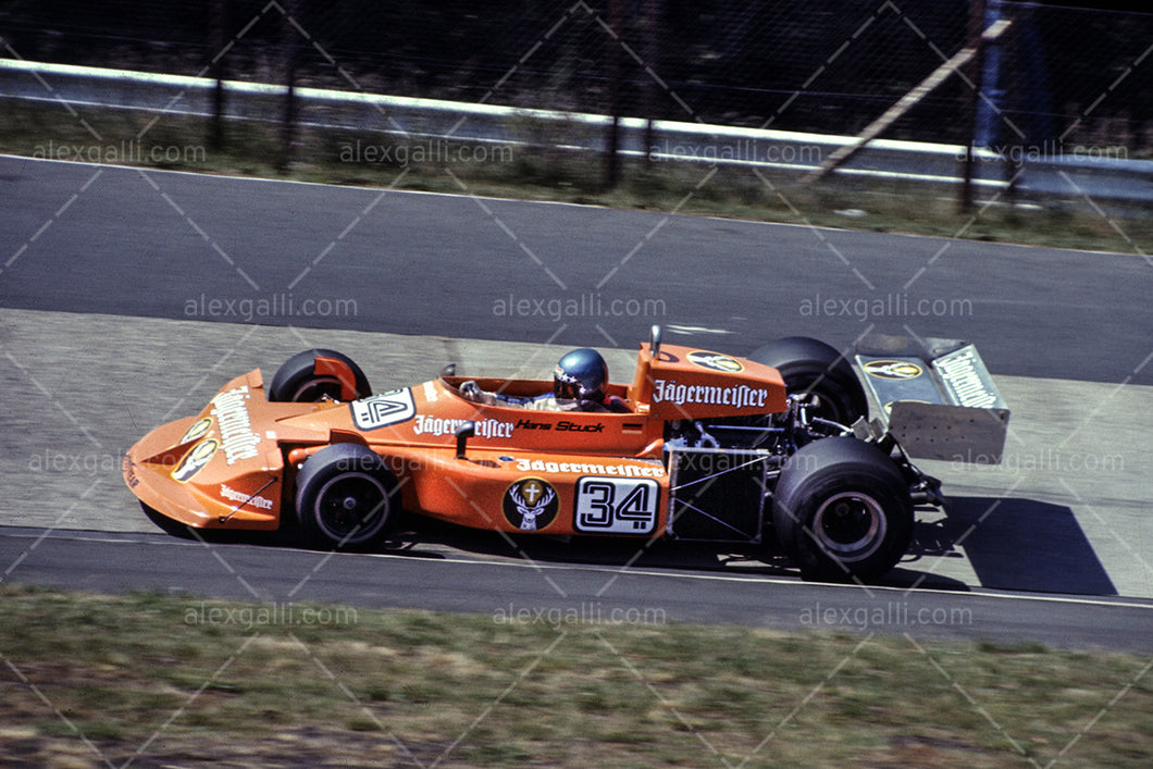 F1 1976 Hans-Joachim Stuck - March 761 - 19760034