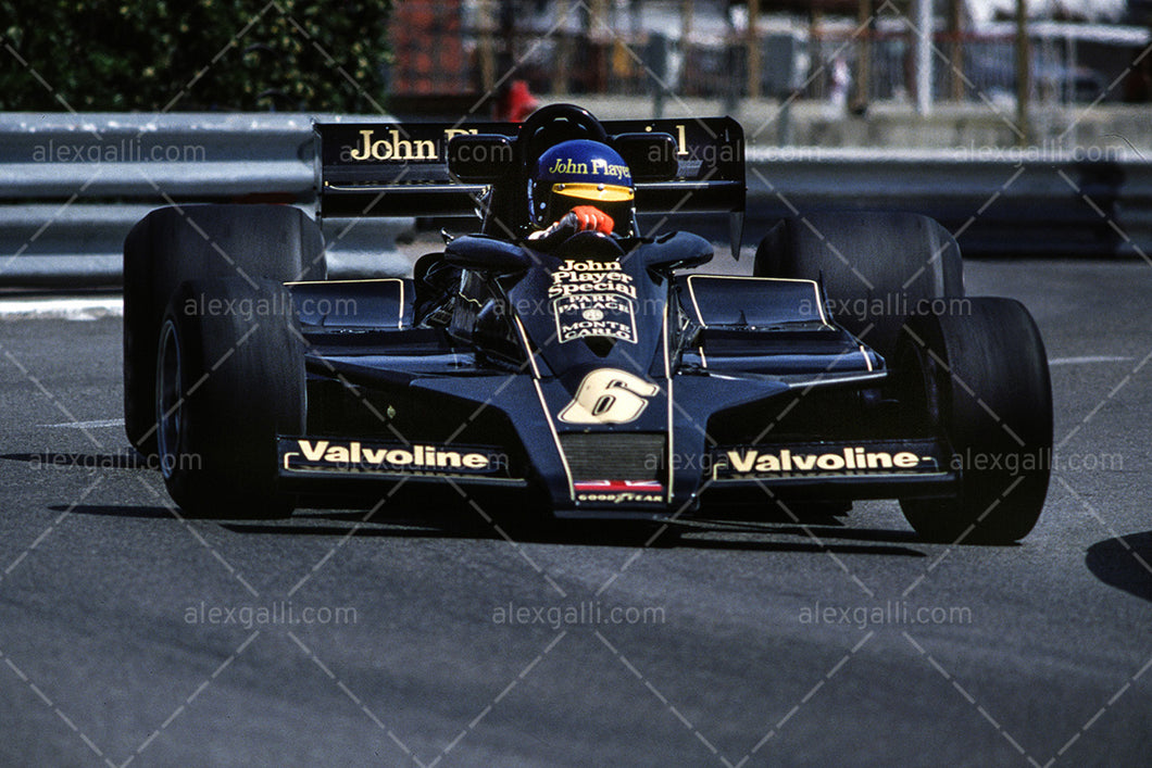 F1 1978 Ronnie Peterson - Lotus 79 - 19780091