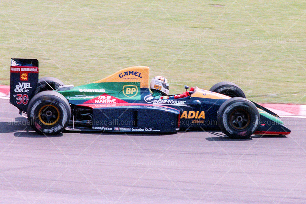 F1 1989 Philipp Alliot - Lola LC89 - 19890004