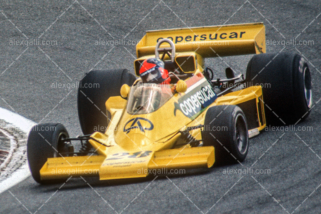 F1 1977 Emerson Fittipaldi - Copersucar F5 - 19770018