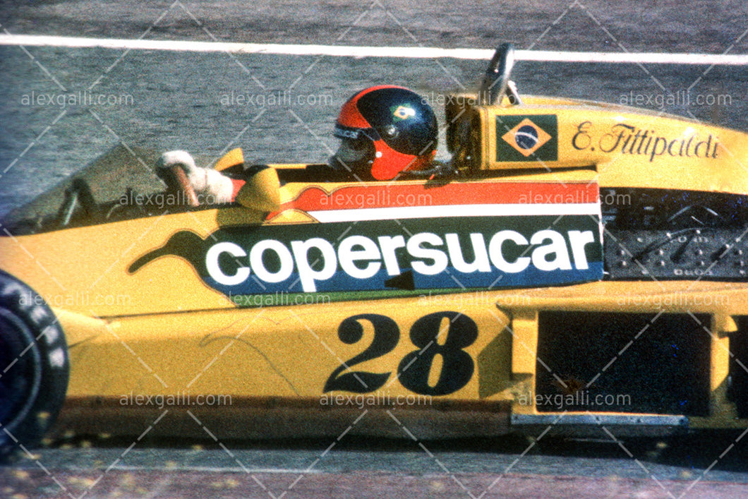 F1 1977 Emerson Fittipaldi - Copersucar F5 - 19770019