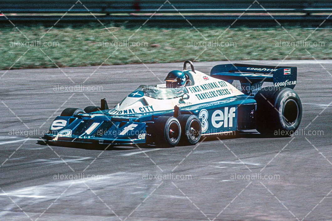 F1 1977 Ronnie Peterson - Tyrrell P34 - 19770050