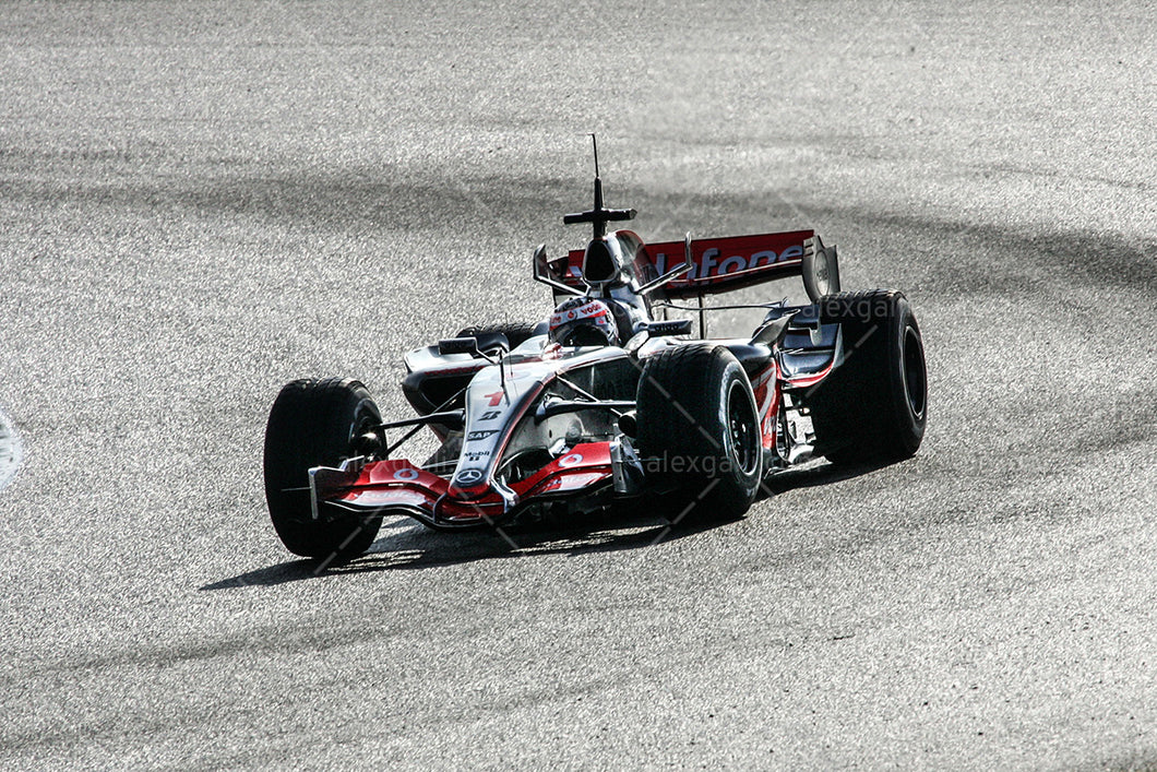 F1 2007 Fernando Alonso  - McLaren MP4-22 - 20070002