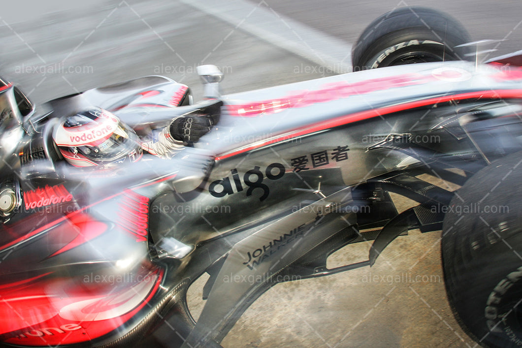 F1 2007 Fernando Alonso  - McLaren MP4-22 - 20070008