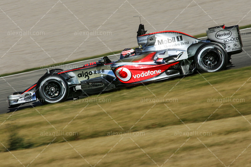 F1 2007 Fernando Alonso  - McLaren MP4-22 - 20070009
