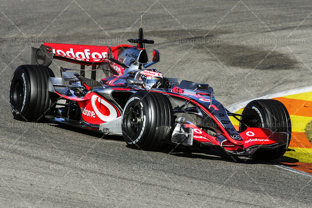 F1 2007 Fernando Alonso  - McLaren MP4-22 - 20070012