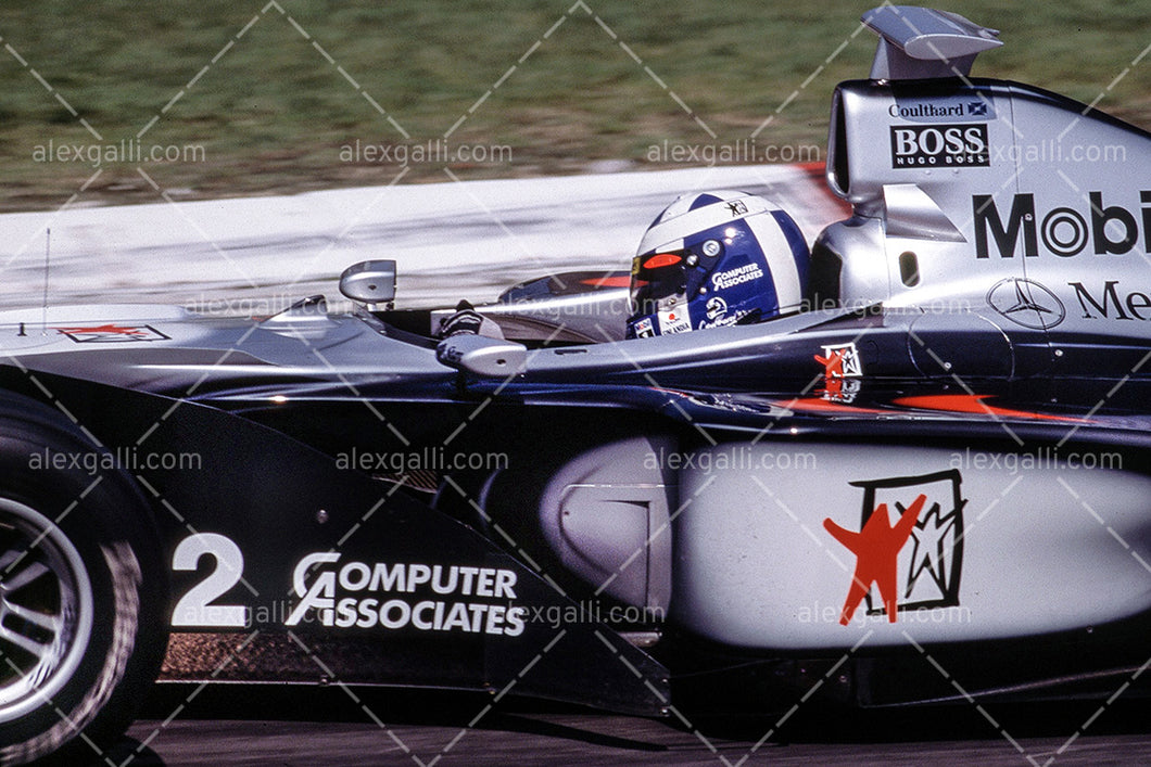 F1 1999 David Coulthard - McLaren MP4/14 - 19990016