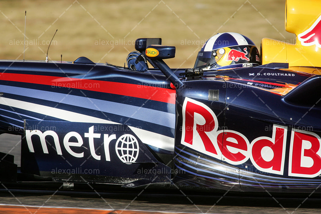 F1 2007 David Coulthard  - Red Bull RB3 - 20070028