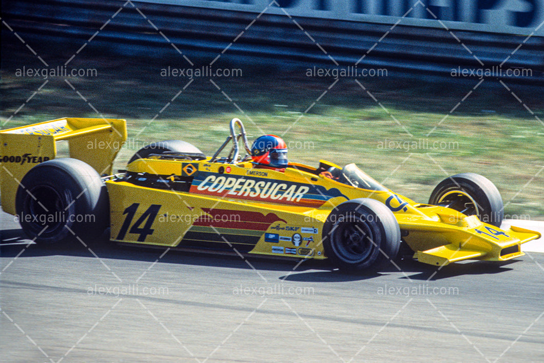 F1 1978 Emerson Fittipaldi - Copersucar F5A - 19780014