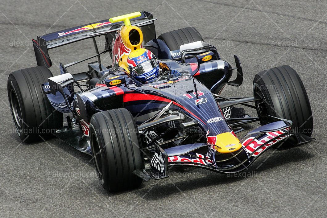 F1 2007 Mark Webber - Red Bull RB3 - 20070148