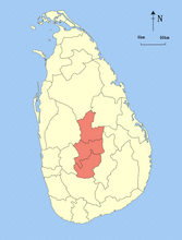 Load image into Gallery viewer, {{PD-user-w||Commons|Trengarasu}} {{Information |Description= Locator maps of the provinces Sri Lanka. |Source= Based on the district locator maps of Sri Lanka by User:Trengarasu (example