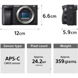 Sony ILCE - 6400L DSLR Camera