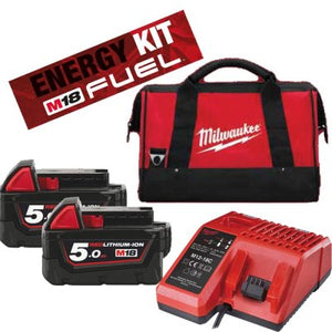 KIT BATTERIE -ENERGY PACK M18™ - ENERGY KIT 18V BATTERIA 12V EXTRA - M18 NRG-202
