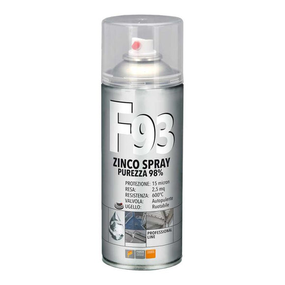F93 ZINCO PROFESSIONALE - 400ml.