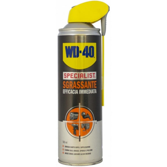 WD-40 sgrassante ad efficacia immediata a base di solvente.