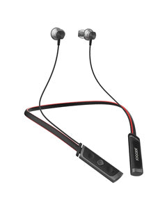 Jogger Y14 Magnetic Fold-able Wireless Bluetooth Jogger Earphone Neckband Headphone Sport 3D Stereo Noise Cancelling Headphone Sports Headset with Microphone